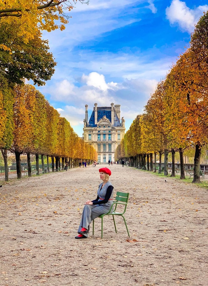 Tuilleries Gardens makes the perfect Paris instagram spot