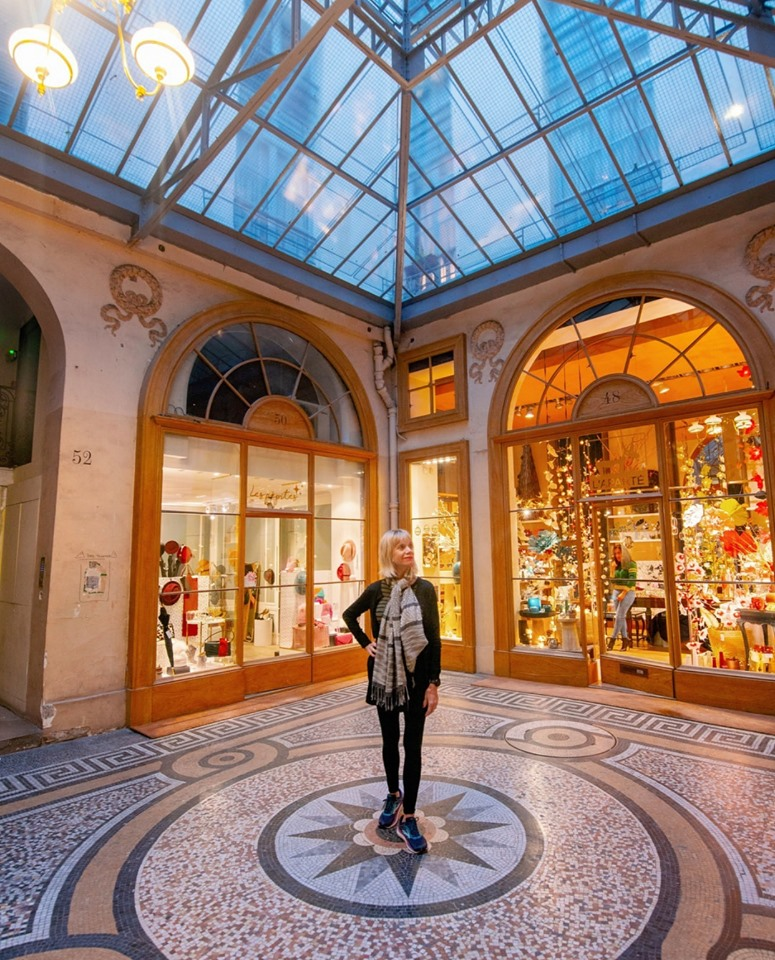 The Galeries Vivienne is one of Paris instagram spots that will charm you