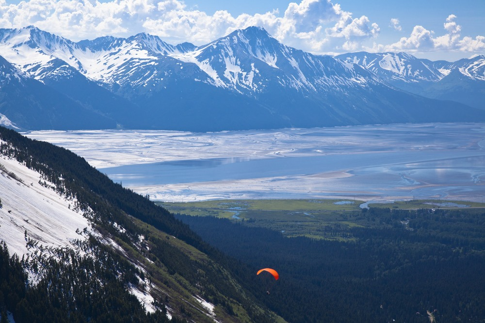 Dramatic jaw dropping views of Turnagain Arm are unforgettable