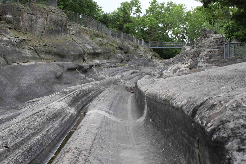 seeing the Glacial Grooves on Kelley's Island in Ohio is educational and interesting.