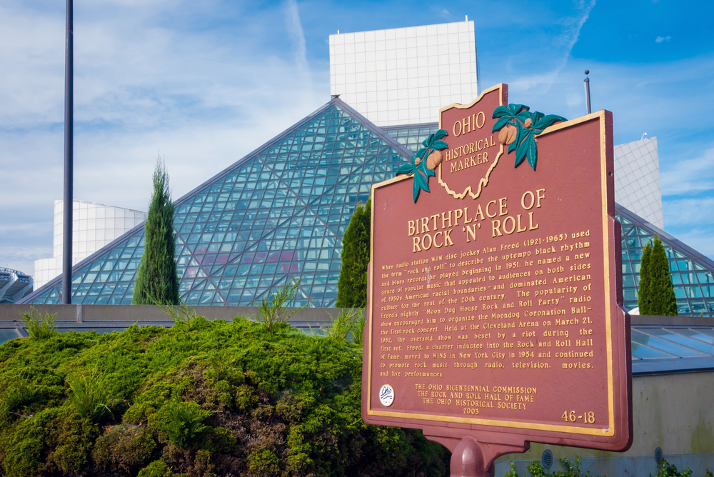 One of the fun things to do in Ohio is to visit the Rock & Roll Hall of Fame.