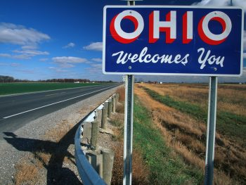 things to do in Ohio welcome sign