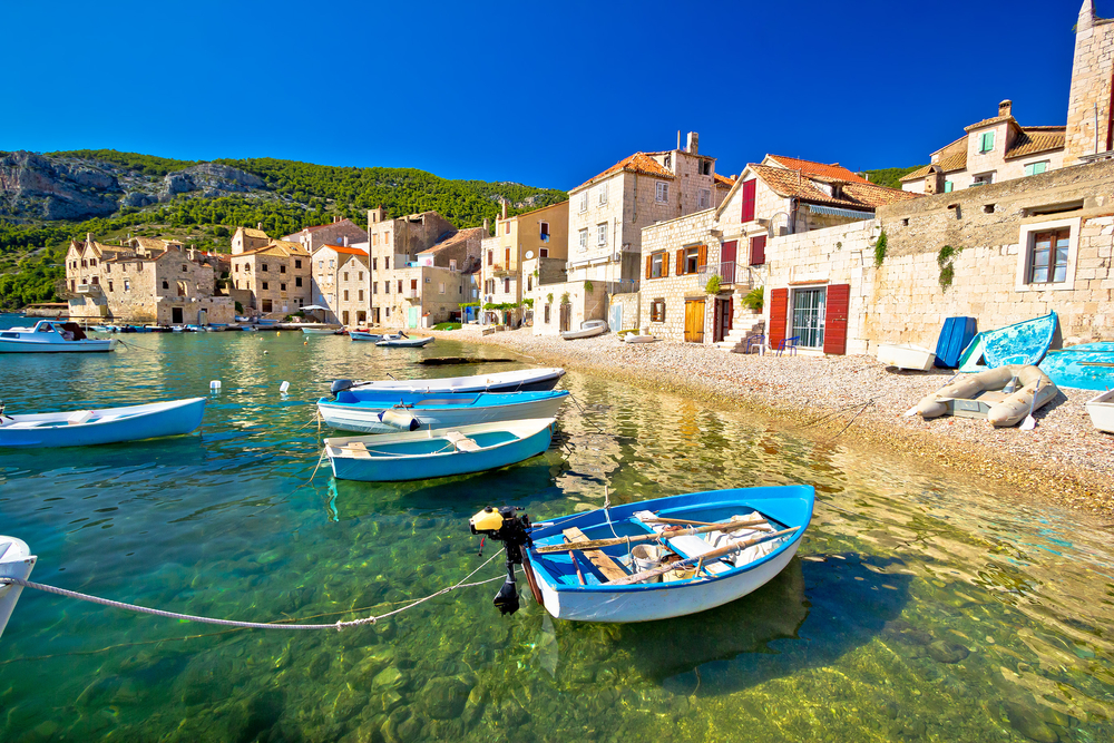 Traveling to Croatia means lots of beautiful beaches and memories