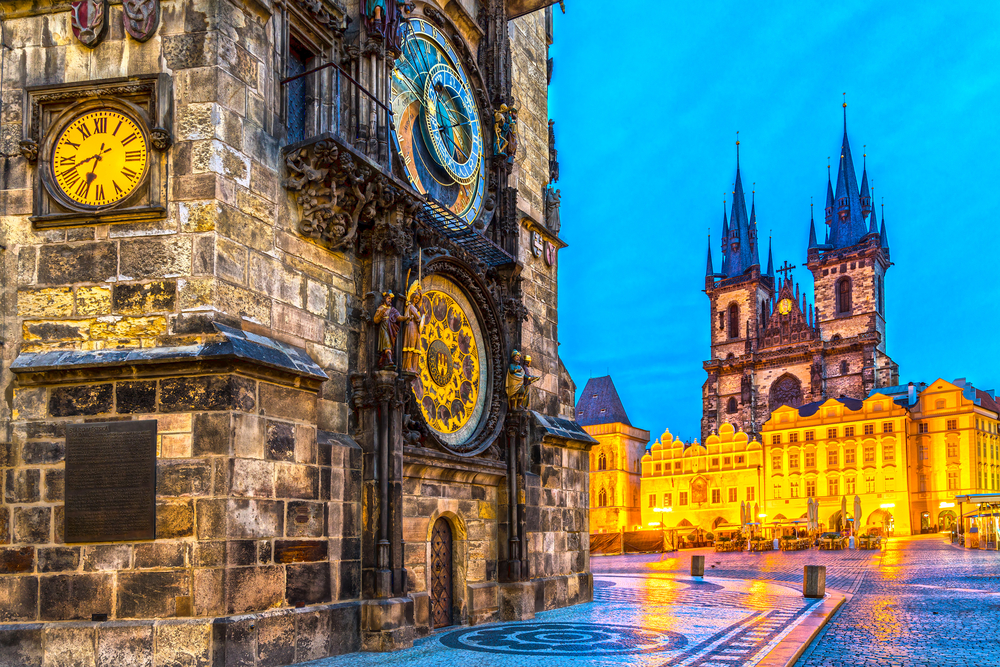 Old Town is a must see dentination when traveling to Prague