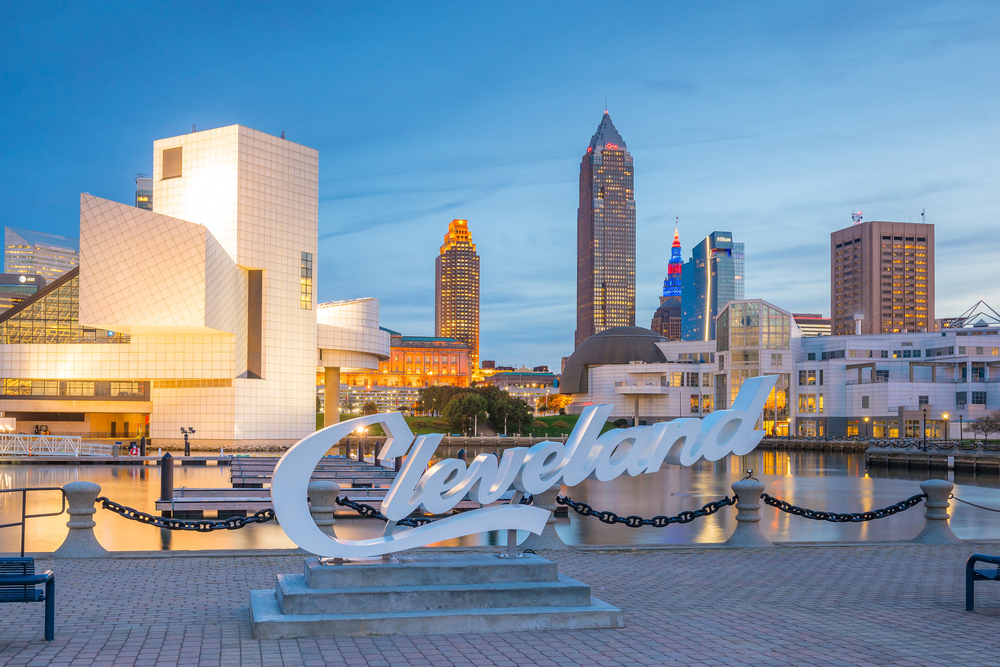 Cleveland Ohio has the most eclectic Airbnbs to choose from