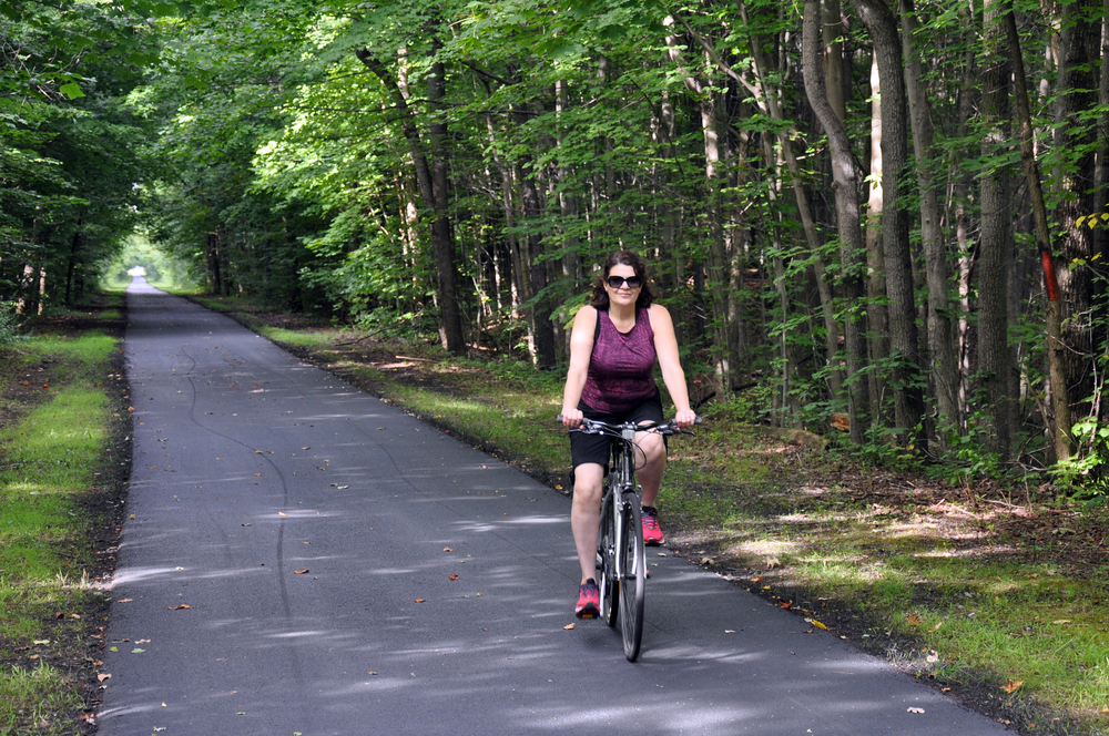 The Netroparks Bikeway in Youngstown Ohio is a healthy thing to visit