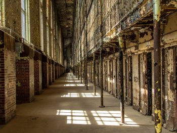 One of the haunted places in Ohio is the abandon cell block of the Ohio State reformatory