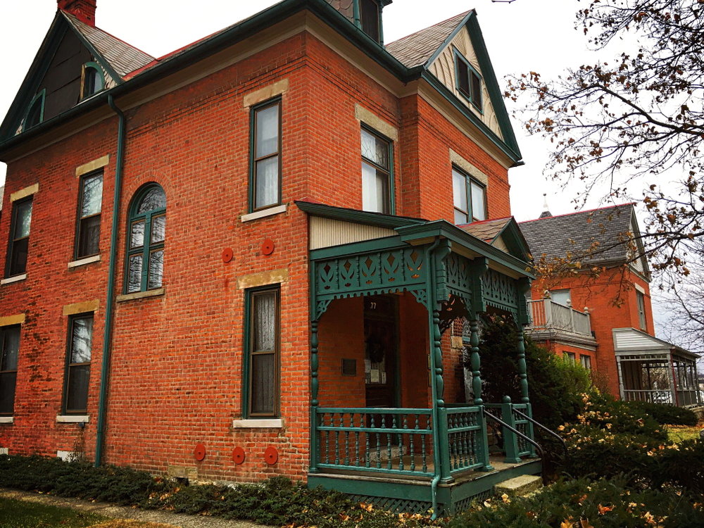 The Thurber House is one of the haunted Places in Ohio to visit