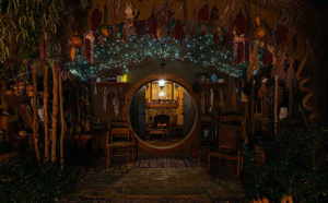 Lord of the Rings-themed hobbit house Airbnbs in Virginia