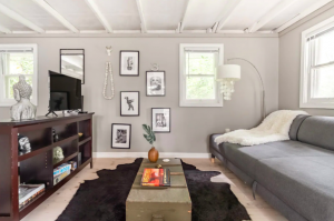spacious living room cabins in Pennsylvania
