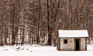 small cabin in the snow cabins in Pennsylvania