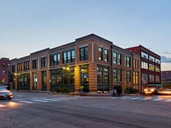 Airbnbs in Kansas City are often trendy, like this loft in a red brick building.