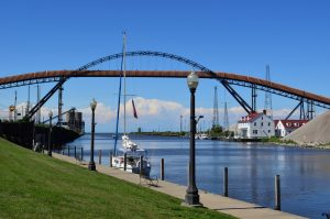 river in Ashtabula towns in Ohio