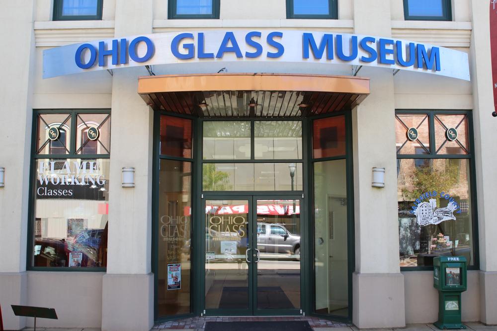 the Ohio Glass Museum