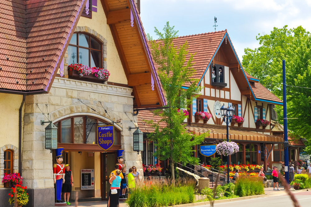 Frankenmuth a German town in Michigan